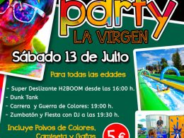 Color Party en La Virgen del Camino
